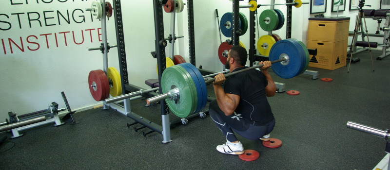 Richard Adjei 141kg Back Squat