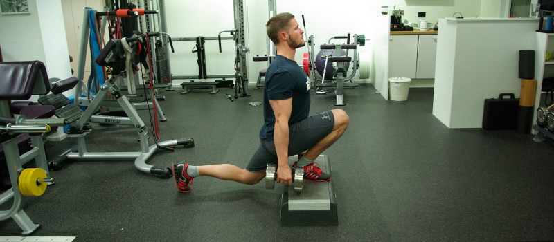 Split Squat Front Foot Elevated Bulgarian Wolfgang YPSI
