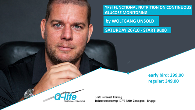 YPSI Functional Nutrition on Continous Glucose Monitoring in Brugge, Belgium